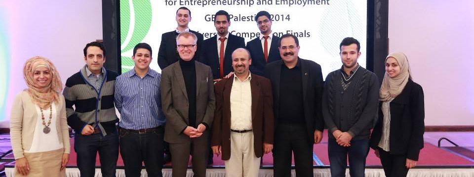 فوز فريق من جامعة النجاح بالمرتبة الثانية في مسابقة الأسبوع العالمي الريادة والتشغيل